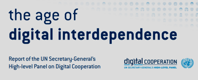 Report of the High-Level Panel on Digital Cooperation