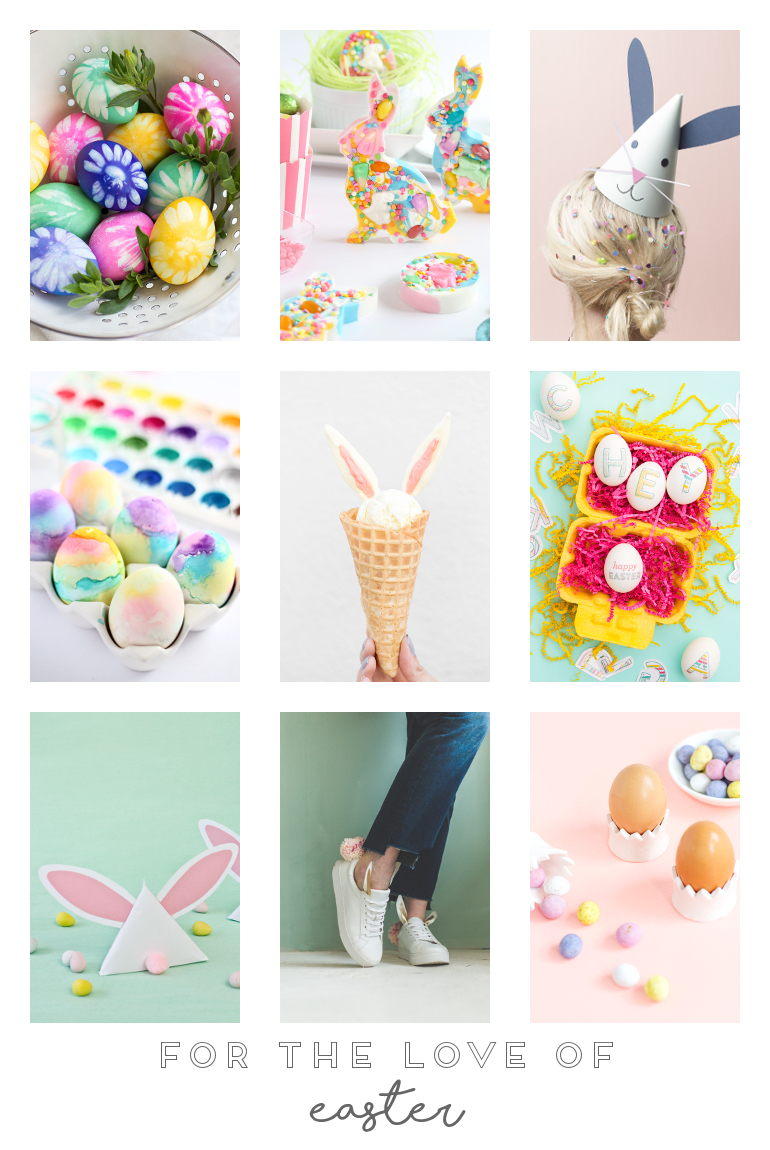 FOR THE LOVE OF EASTER.