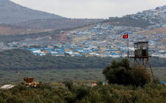 Η Τουρκία καταγγέλλει επιθέσεις σε σημείο ελέγχου της στην Ιντλίμπ