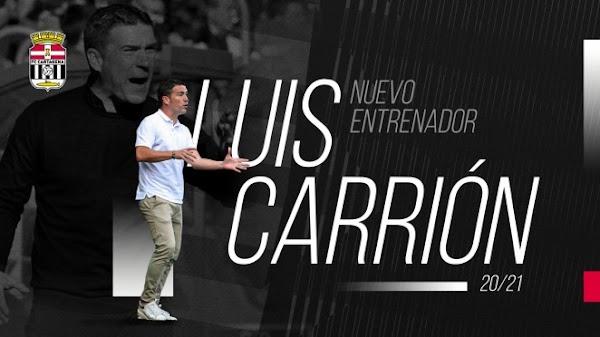 Oficial: FC Cartagena, Luis Carrión nuevo entrenador