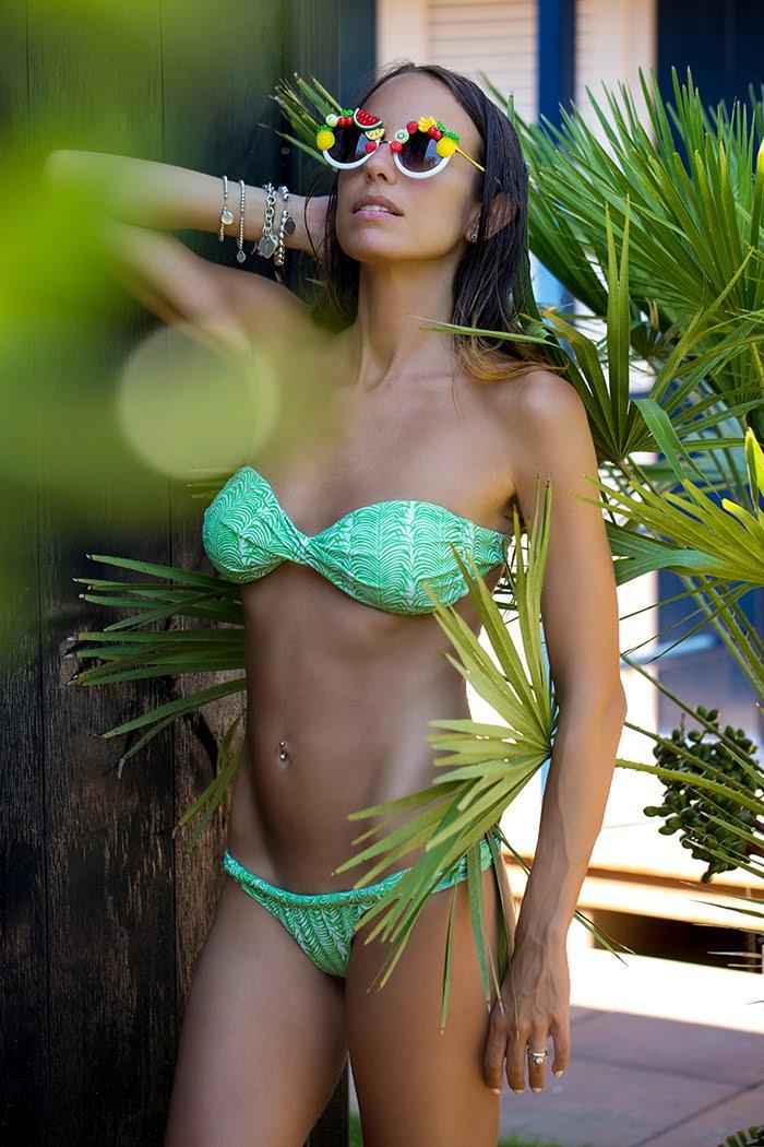 bikini stampa oasi
