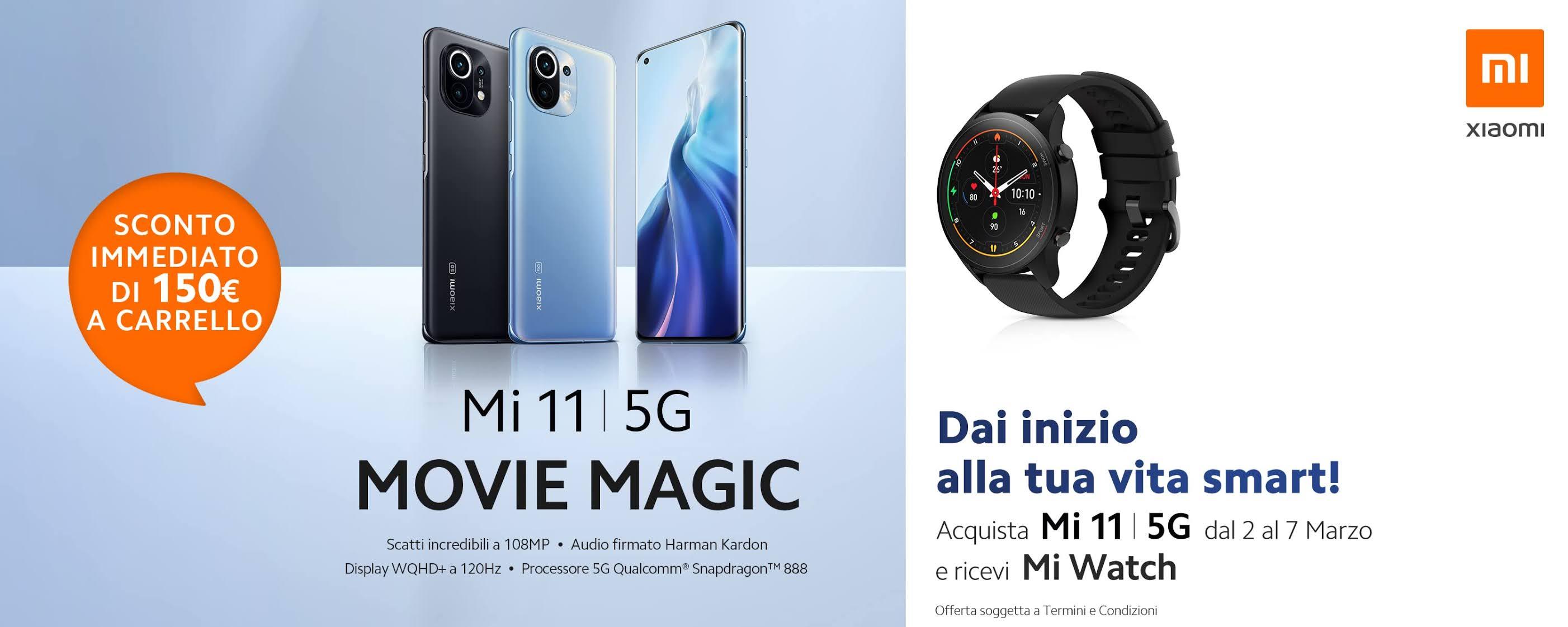 [Offerte e regali] Xiaomi Mi 11 disponibile ufficialmente in Italia