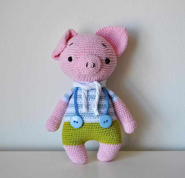 CERDO Patrón Amigurumi Cerdito Animal Bebe por Amigurumeria en Etsy | Cerdo  animal, Patrones amigurumi, Patrones | 614x640