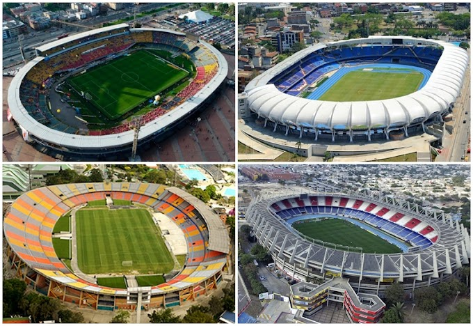 ¡Es oficial! Confirmados los estadios que recibirán la Copa América Colombia - Argentina 2020