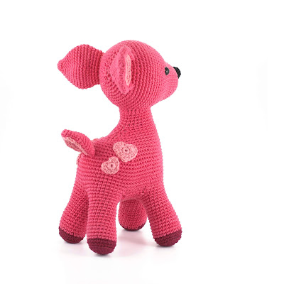 deer crochet toy pattern