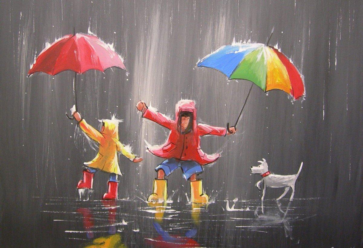 мне глаза картинки хорошего дня в дождливый день пар верхних