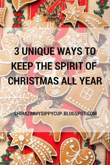 3 Unique Ways to Keep The Spirit of Christmas All Year. #parenting #ChristmasIdeas #Philanthropy