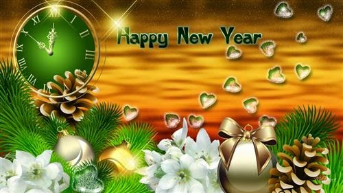 Happy New Year 2016 3D Images for Instagram
