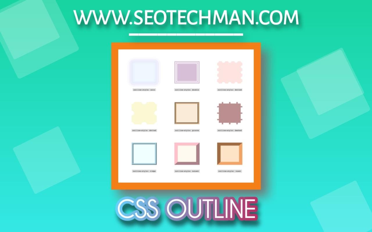 Cara Mudah Membuat Garis Tepi / Garis Besar Dengan Css Outline-Style