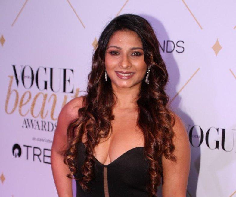 Tanisha Mukherji at VOGUE Beauty Awards 2017