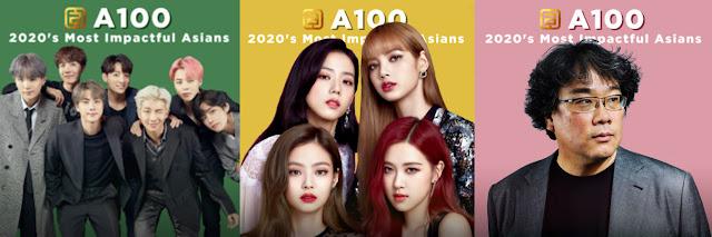 BTS, Blackpink Dan Bong Joon Ho Disenaraikan Dalam Most Impactful Asians Gold House 2020