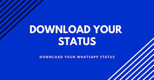 download whatsapp status
