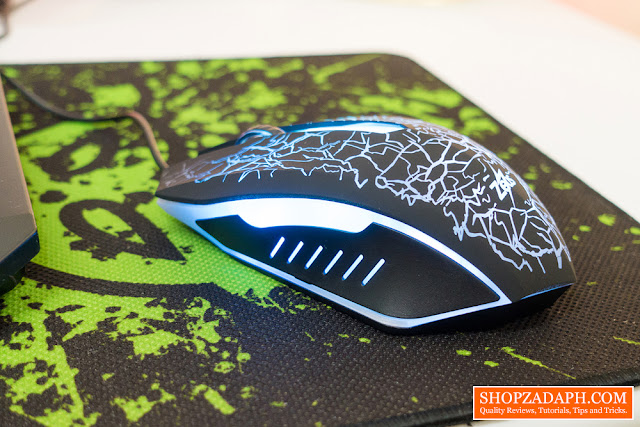 zeus m-110 lightning chain bolt gaming mouse review
