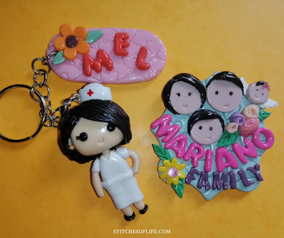 Keychain Clay Art: Amazing Hero Nurses