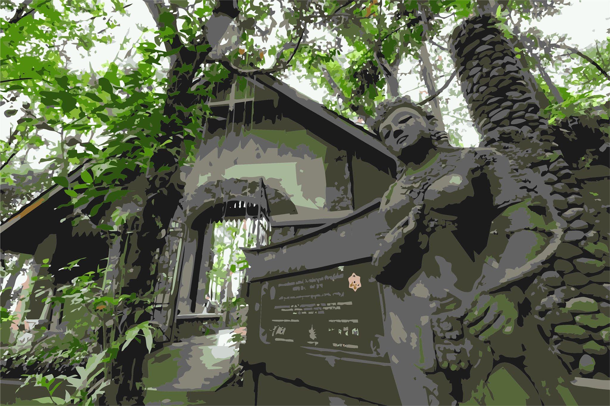Museum Ulen Sentalu di Lereng Gunung Merapi
