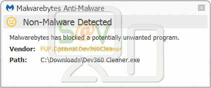 PUP.Optional.Dev360Cleaner