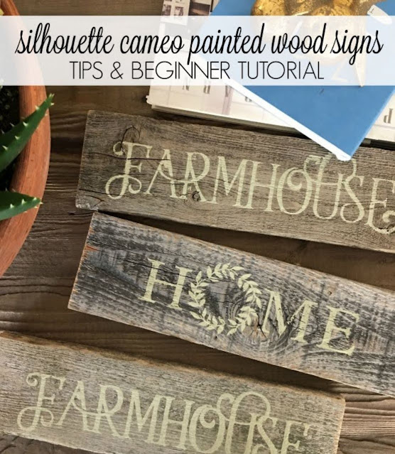 Custom wood signs, wood signs, personalized wood signs, silhouette 101, silhouette america blog