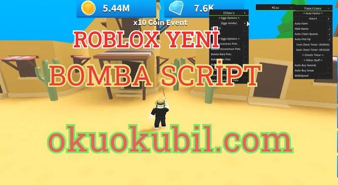 Roblox - Bomba Simülatörü Hack + Script + Çiftlik, Otomatik Açık Yumurta Hileli İndir 2020