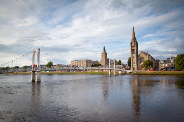 Inverness-ponte di ferro