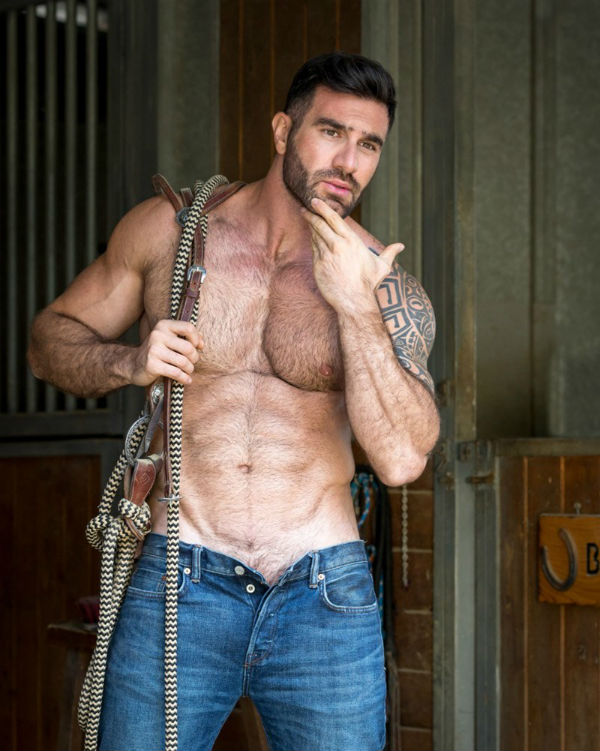 Hairy Niko Antonyan Shirtless by Antony Kozz