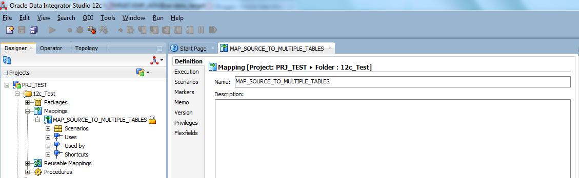 Oracle Data Integrator Tutorials: Loading multiple target