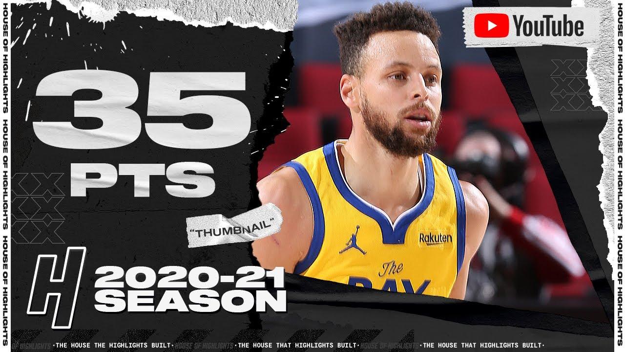 Stephen Curry 35pts 5ast vs POR | March 3, 2021 | 2020-21 NBA Season