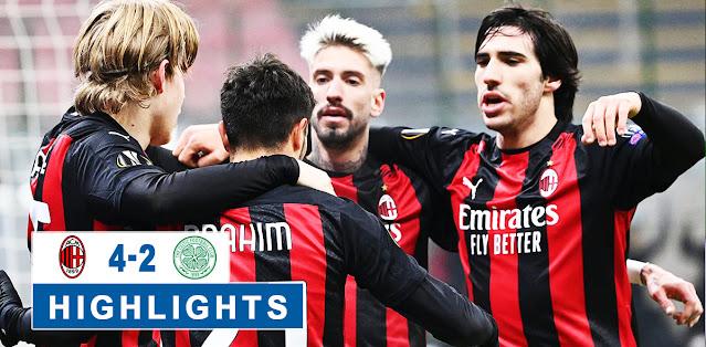 Milan vs Celtic – Highlights