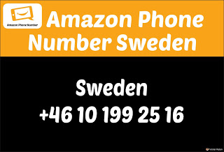 Amazon Customer Care Number Sweden