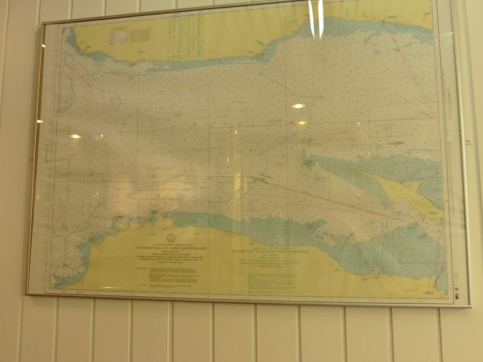 chart of the gulf of finland