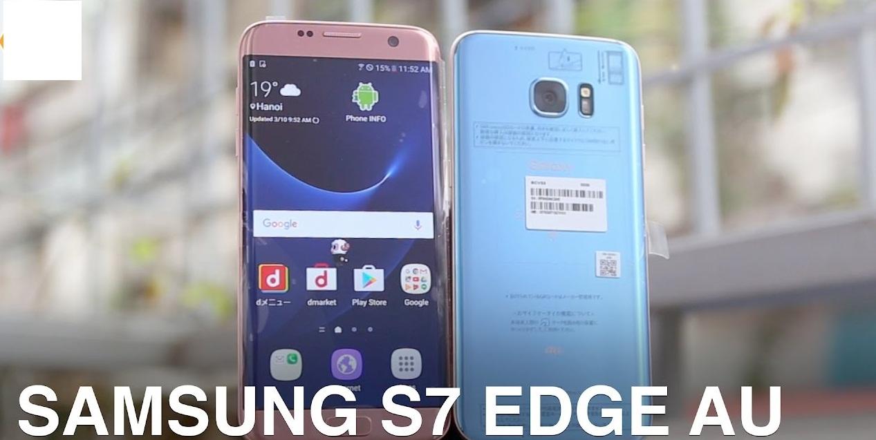 Samsung SCV33( Samsung Galaxy S7 Edge) Unlocking done  - Thegsmsolution