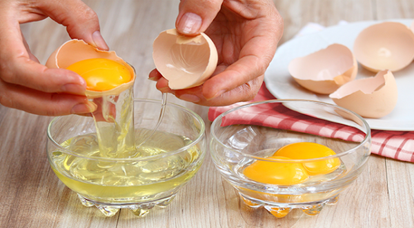 Benefits of efficacy egg whites for oily facial skin