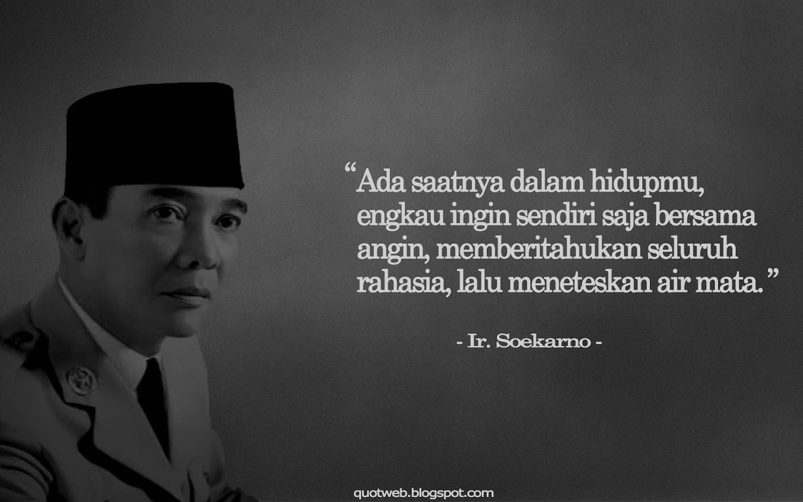 Kumpulan Kata Bijak Presiden Sukarno Quotweb