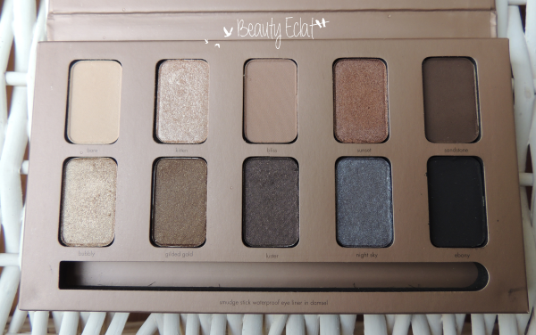 revue avis test palette stila in the light