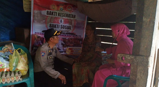 Peringatan HUT Bhayangkara, Lihat Apa yang Dilakukan Personel Polres Soppeng