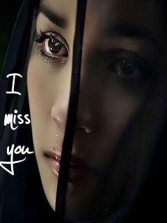 I Miss You Girl 240x320 Mobile Wallpapers 1 | Mobile ...