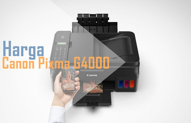 Harga dan Spesifikasi Canon Pixma G4000