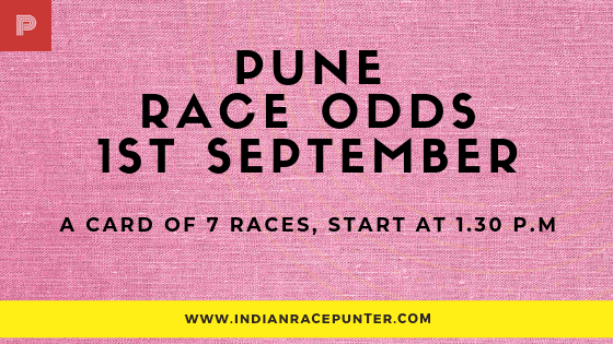 Today's Pune Race Card/ Media Tips/ Odds/ Selections