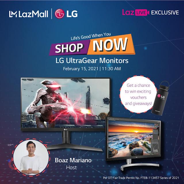 LG Monitor Lazada Gizmo Manila