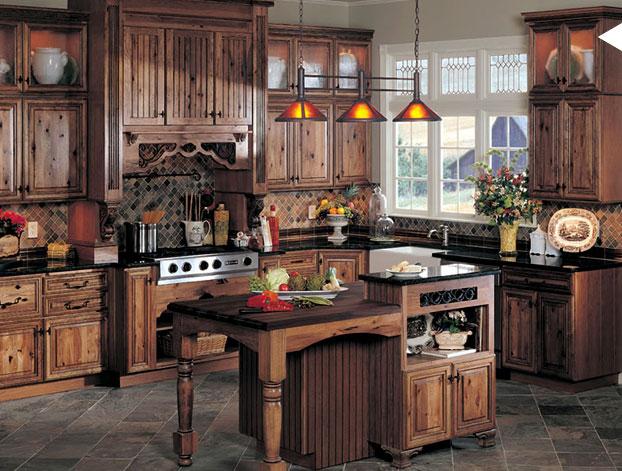 Rustic Kitchen Decoration Ideas