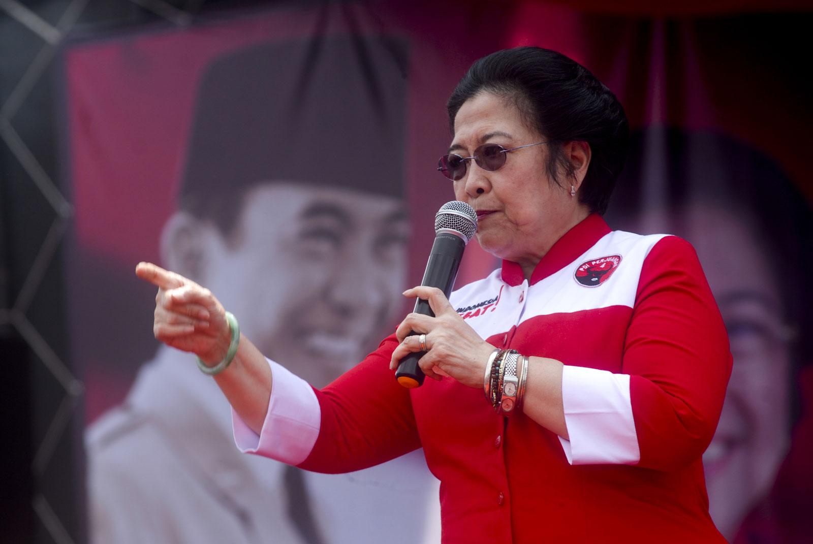 Megawati Heran Ada Orang Tak Suka Pancasila
