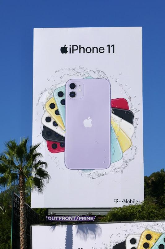 Apple iPhone 11 Holidays 2019 billboard