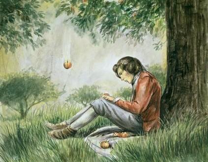 قصة تفاحة نيوتن