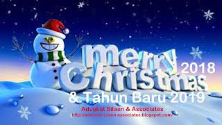 Selamat Merayakan Natal 25 Des 2018 dan Menyambut Tahun Baru 2019
