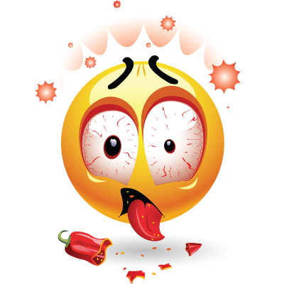 chili pepper smiley symbols amp emoticons