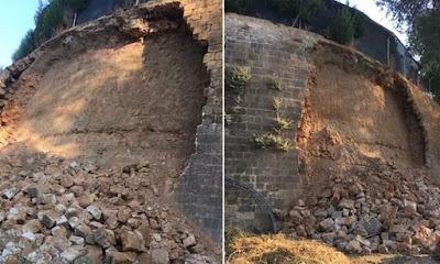 Θλίψη και απογοήτευση Τμήματος Αρχαιοτήτων για νέα κατάρρευση Ενετικών Τειχών