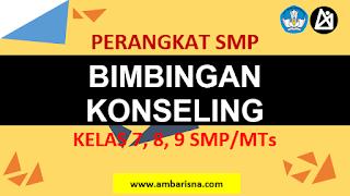 Download RPLBK 1 Lembar Bimbingan Konseling SMP Kelas 7, 8, 9 Terbaru