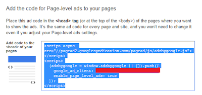 How to add Adsense: Page-level ads on your Website
