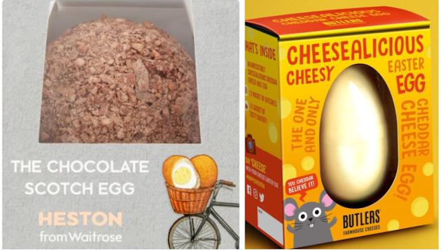 Unusual Easter Eggs