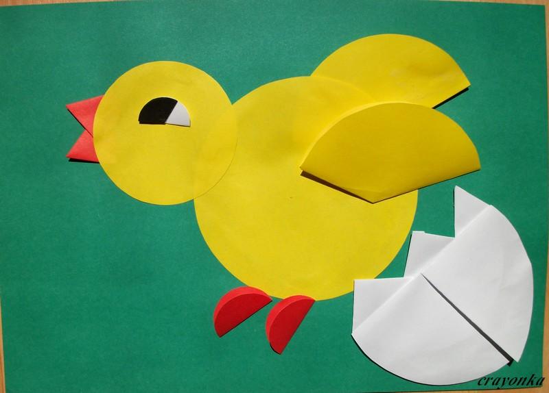 Prace plastyczne - Kolorowe kredki: Wielkanoc - zwierzątka origami ...