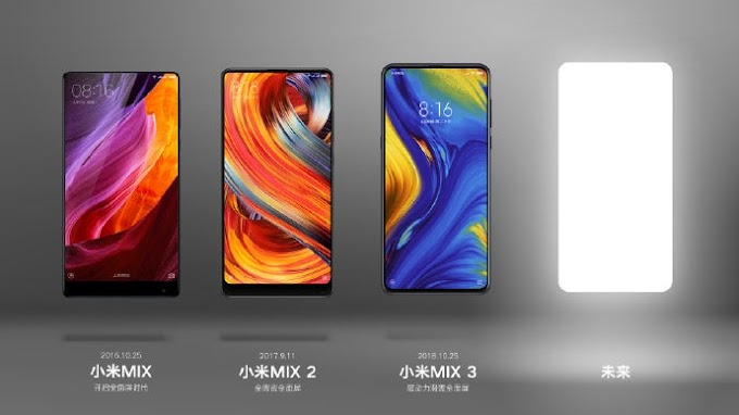 XIAOMI MI MIX 4 MIGHT BE ARRIVED ON 10TH OF ........